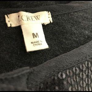 J. Crew Tops - J CREW sequin top M